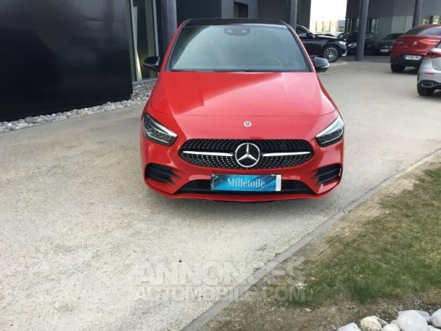 Mercedes Classe B 200d 150ch AMG Line 8G-DCT Rouge jupiter Occasion - 14