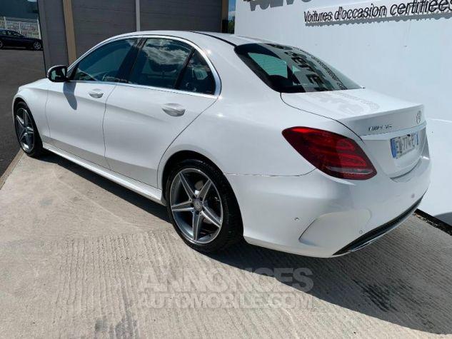 Mercedes Classe C 180 d Sportline Blanc Occasion - 1