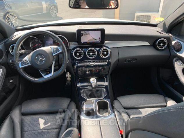 Mercedes Classe C 180 d Sportline Blanc Occasion - 3