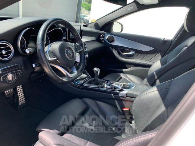 Mercedes Classe C 180 d Sportline Blanc Occasion - 4