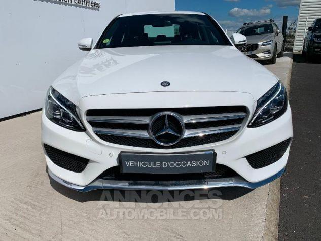 Mercedes Classe C 180 d Sportline Blanc Occasion - 7
