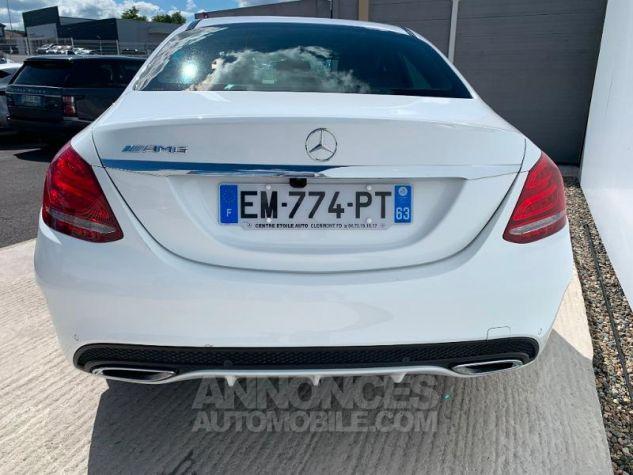 Mercedes Classe C 180 d Sportline Blanc Occasion - 9