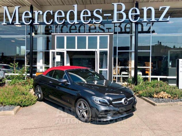 Mercedes Classe C 200 184ch AMG Line 9G-Tronic Euro6d-T Gris graphite métallisé Occasion - 1