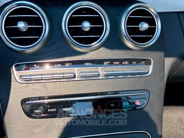 Mercedes Classe C 200 184ch AMG Line 9G-Tronic Euro6d-T Gris graphite métallisé Occasion - 11