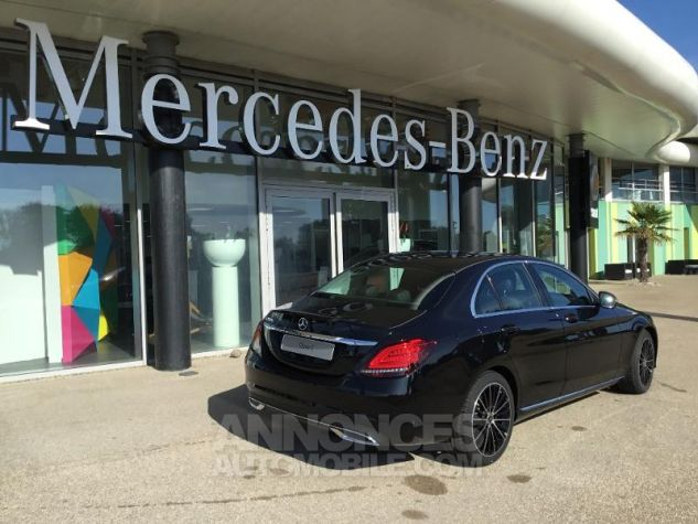 Mercedes Classe C 200 d 150ch Avantgarde Line 9G-Tronic Noir obsidienne métallisé Occasion - 1