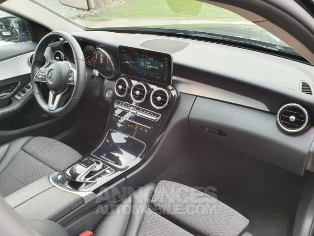 Mercedes Classe C 200 d 150ch Avantgarde Line 9G-Tronic Noir Obsidienne Métallisé Occasion - 13