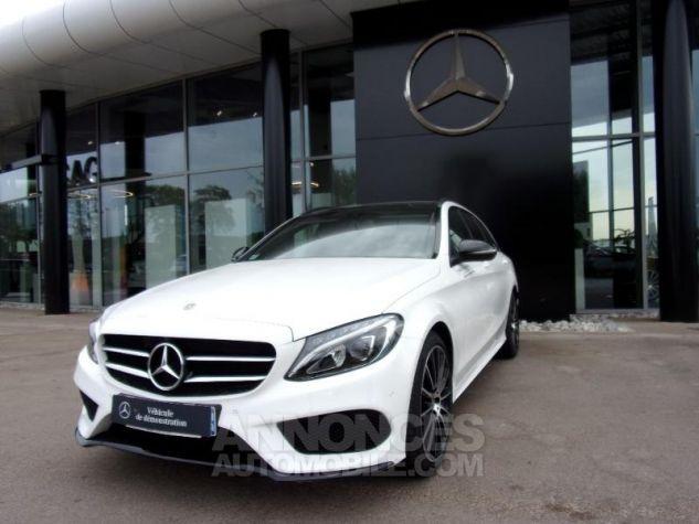 Mercedes Classe C 200 d Sportline Blanc polaire non métallisé Occasion - 0