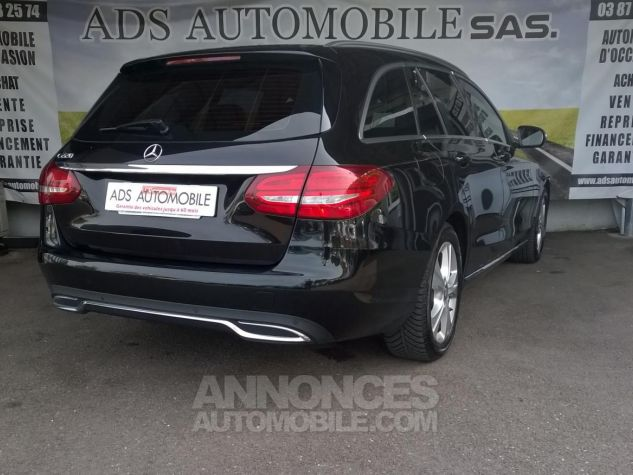 Mercedes Classe C 220 BLUETEC Executive 7G Noir Occasion - 1