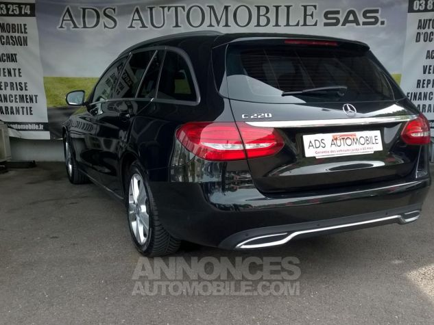 Mercedes Classe C 220 BLUETEC Executive 7G Noir Occasion - 3