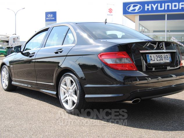 Mercedes Classe C 220 cdi amg blue efficiency Noir  Occasion - 1