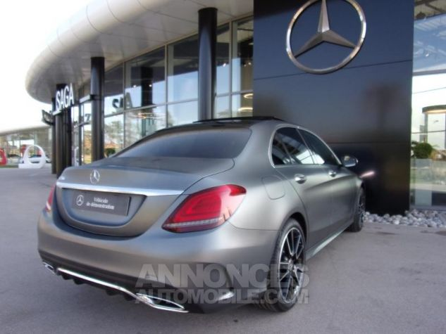 Mercedes Classe C 220 d 194ch AMG Line 9G-Tronic GRIS SELENITE Occasion - 1