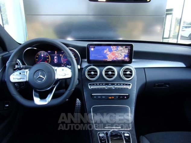 Mercedes Classe C 220 d 194ch AMG Line 9G-Tronic GRIS SELENITE Occasion - 2