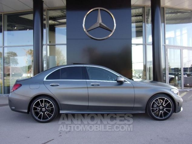Mercedes Classe C 220 d 194ch AMG Line 9G-Tronic GRIS SELENITE Occasion - 8