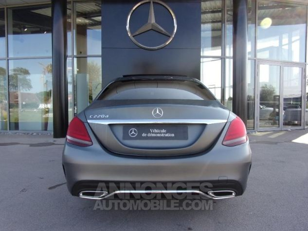 Mercedes Classe C 220 d 194ch AMG Line 9G-Tronic GRIS SELENITE Occasion - 9
