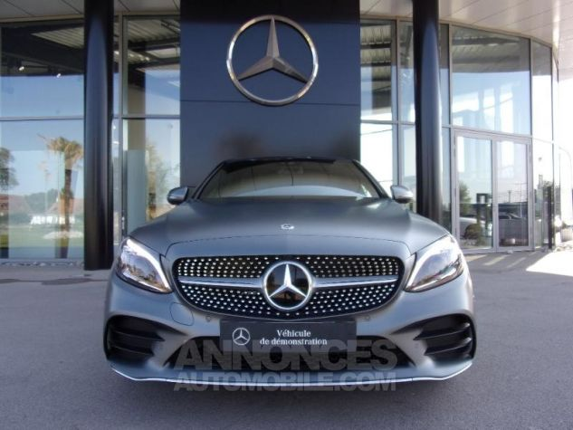 Mercedes Classe C 220 d 194ch AMG Line 9G-Tronic GRIS SELENITE Occasion - 11