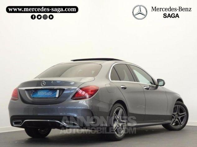 Mercedes Classe C 220 d 194ch AMG Line 9G-Tronic Gris sélénite métallisé Occasion - 1