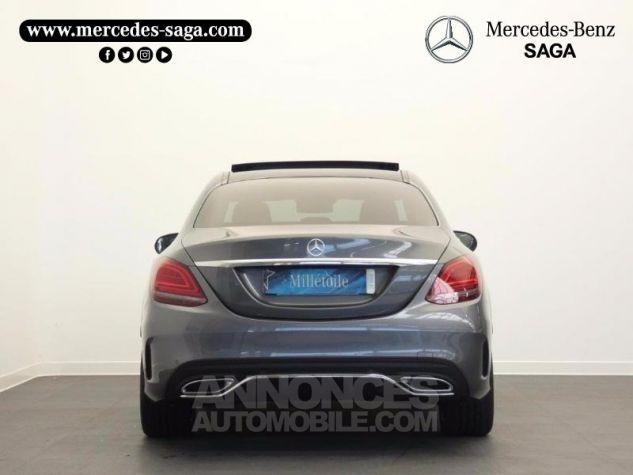 Mercedes Classe C 220 d 194ch AMG Line 9G-Tronic Gris sélénite métallisé Occasion - 7