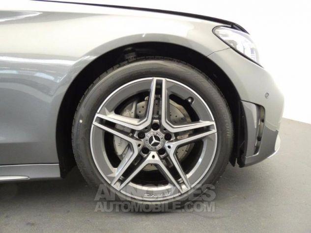 Mercedes Classe C 220 d 194ch AMG Line 9G-Tronic Gris sélénite métallisé Occasion - 13
