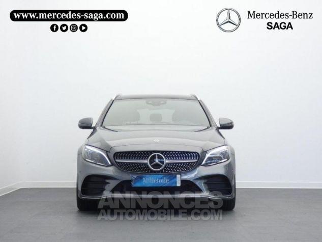 Mercedes Classe C 220 d 194ch AMG Line 9G-Tronic Gris sélénite métallisé Occasion - 5