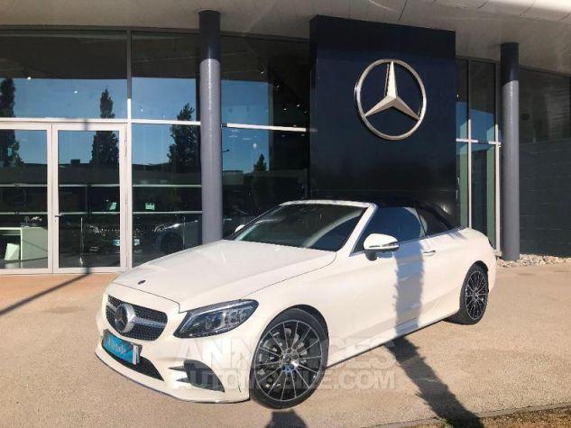 Mercedes Classe C 220 d 194ch AMG Line 9G-Tronic Euro6d-T Blanc diamant brillant designo Occasion - 0