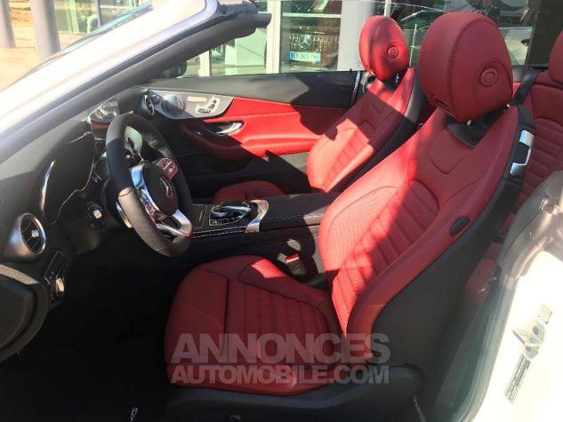 Mercedes Classe C 220 d 194ch AMG Line 9G-Tronic Euro6d-T Blanc diamant brillant designo Occasion - 2