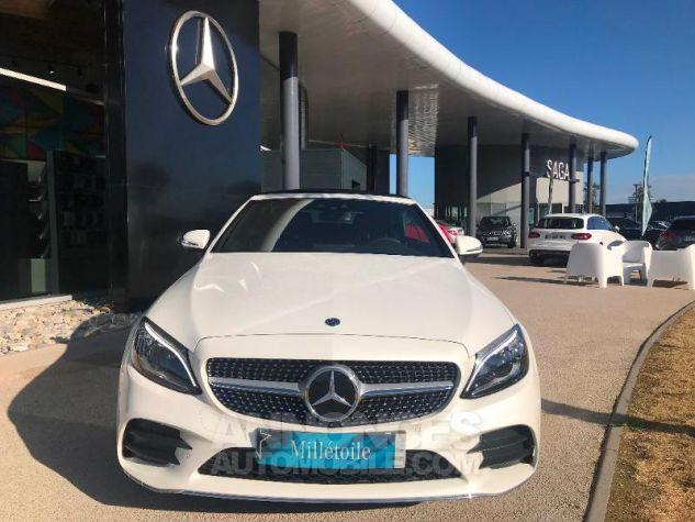 Mercedes Classe C 220 d 194ch AMG Line 9G-Tronic Euro6d-T Blanc diamant brillant designo Occasion - 4