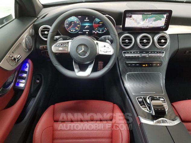 Mercedes Classe C 220 d 194ch AMG Line 9G-Tronic Euro6d-T Blanc diamant designo brillant Occasion - 15