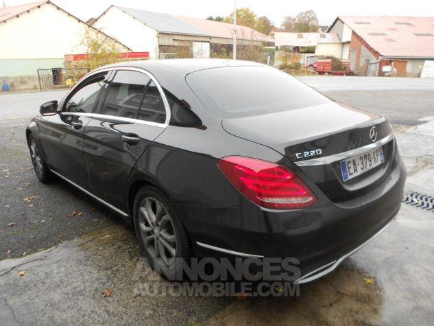 Mercedes Classe C 220d avantgarde Bluetec 7G noir Occasion - 4