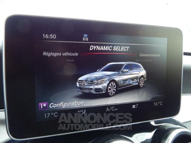 Mercedes Classe C 250 d Fascination 9G-Tronic ZP NOIR OBSIDIENNE Occasion - 8