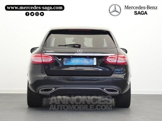 Mercedes Classe C 350 e Fascination 7G-Tronic Plus Noir obsidienne Occasion - 7