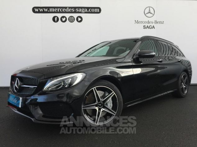 Mercedes Classe C 43 AMG 4Matic 9G-Tronic ZP NOIR OBSIDIENNE Occasion - 0