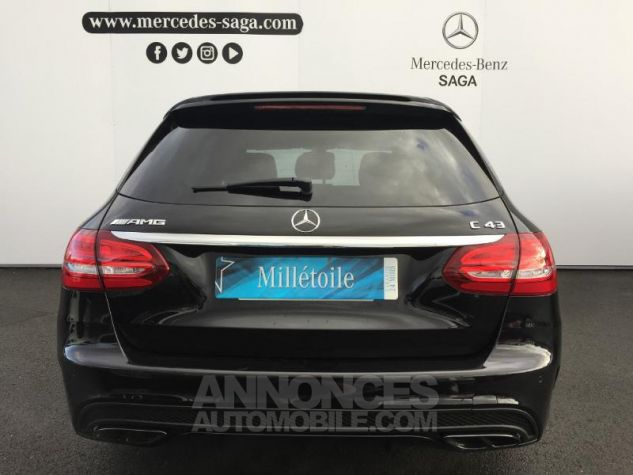 Mercedes Classe C 43 AMG 4Matic 9G-Tronic ZP NOIR OBSIDIENNE Occasion - 17
