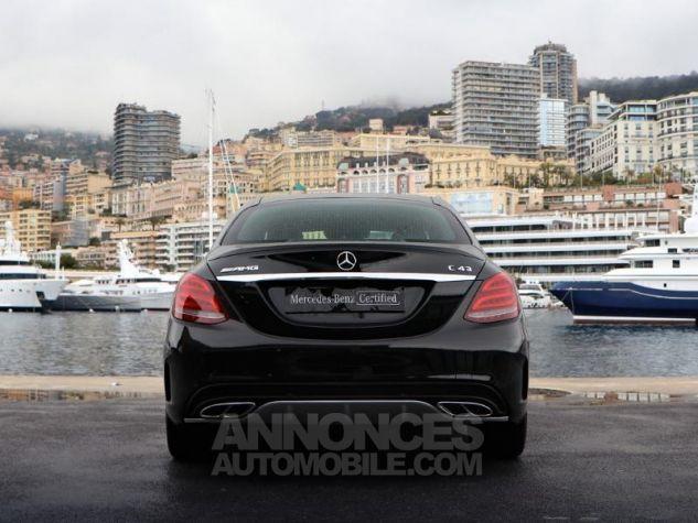 Mercedes Classe C 43 AMG 4Matic 9G-Tronic Noir Métal Occasion - 9