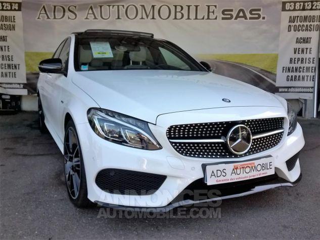 Mercedes Classe C 450 AMG 4MATIC 7G-Tronic A Blanc Occasion - 0
