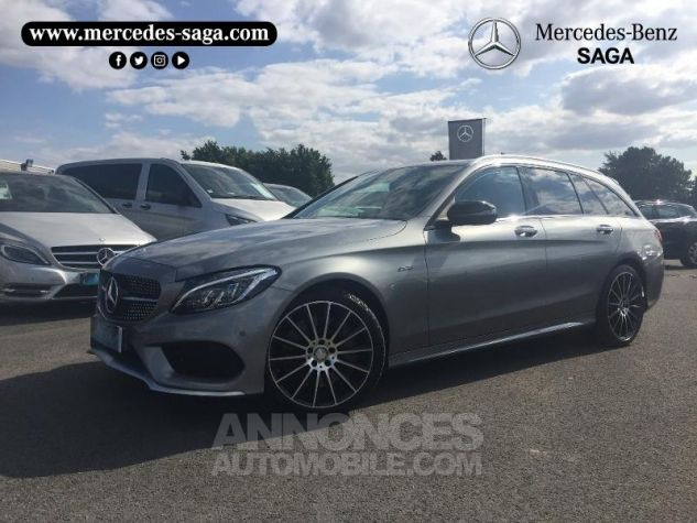 Mercedes Classe C 450 AMG 4Matic 7G-Tronic Plus Argent Palladium Occasion - 0