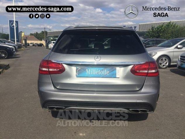 Mercedes Classe C 450 AMG 4Matic 7G-Tronic Plus Argent Palladium Occasion - 4
