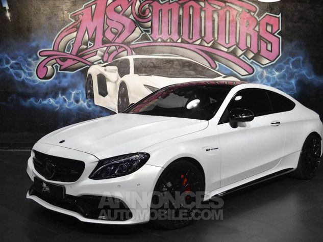 Mercedes Classe C 63 AMG S COUPE 7G-TRONIC BLANC MAT Occasion - 0