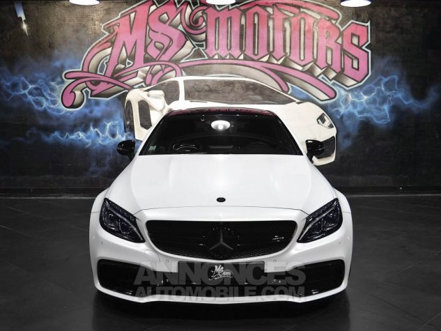Mercedes Classe C 63 AMG S COUPE 7G-TRONIC BLANC MAT Occasion - 1