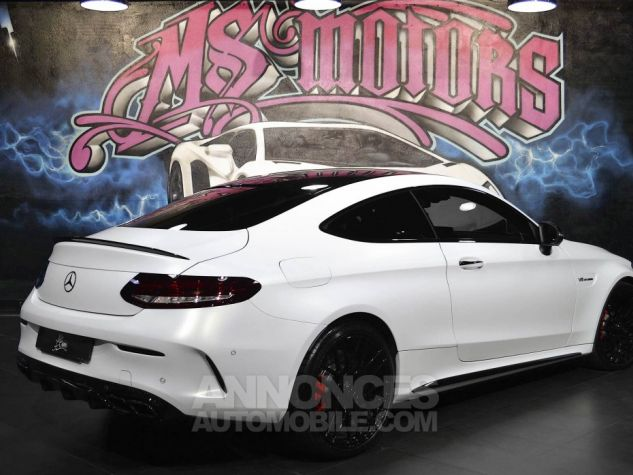 Mercedes Classe C 63 AMG S COUPE 7G-TRONIC BLANC MAT Occasion - 4