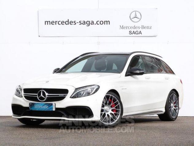 Mercedes Classe C 63 AMG S Speedshift MCT AMG Blanc Diamant Designo Occasion - 0