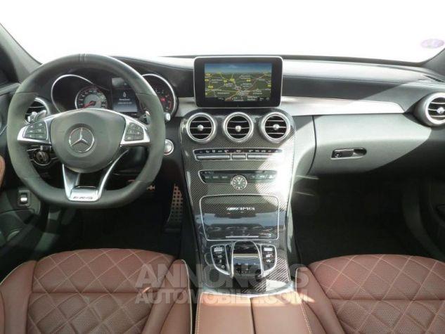 Mercedes Classe C 63 AMG S Speedshift MCT AMG Blanc Diamant Designo Occasion - 2