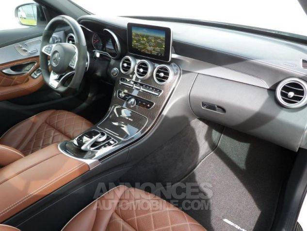 Mercedes Classe C 63 AMG S Speedshift MCT AMG Blanc Diamant Designo Occasion - 4