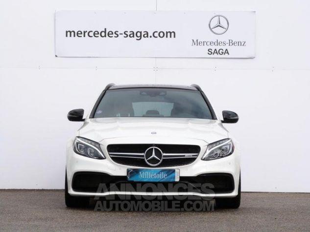 Mercedes Classe C 63 AMG S Speedshift MCT AMG Blanc Diamant Designo Occasion - 5