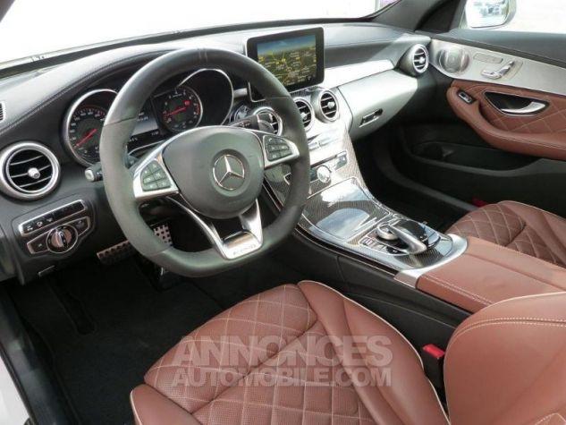 Mercedes Classe C 63 AMG S Speedshift MCT AMG Blanc Diamant Designo Occasion - 7