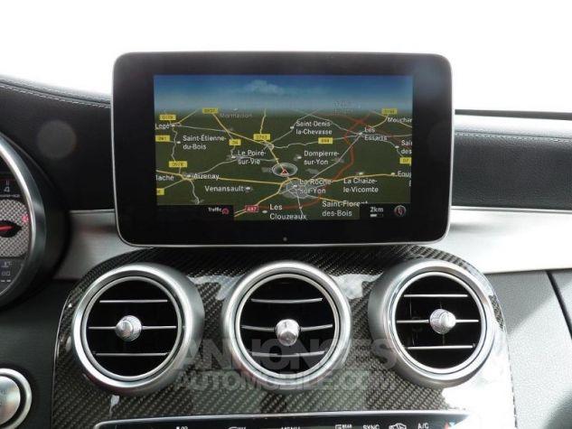 Mercedes Classe C 63 AMG S Speedshift MCT AMG Blanc Diamant Designo Occasion - 8