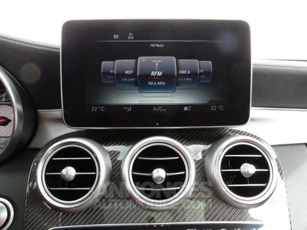 Mercedes Classe C 63 AMG S Speedshift MCT AMG Blanc Diamant Designo Occasion - 9