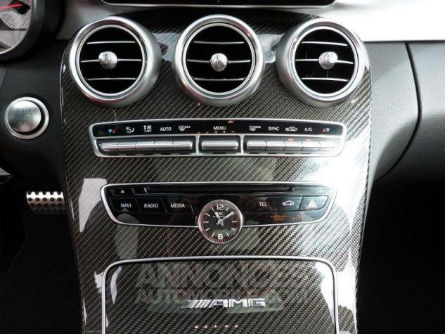 Mercedes Classe C 63 AMG S Speedshift MCT AMG Blanc Diamant Designo Occasion - 11