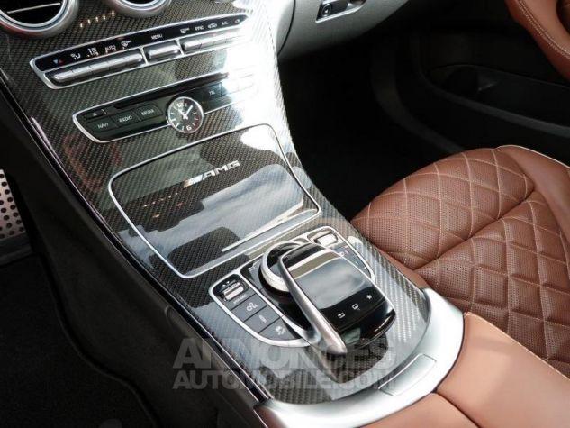 Mercedes Classe C 63 AMG S Speedshift MCT AMG Blanc Diamant Designo Occasion - 12