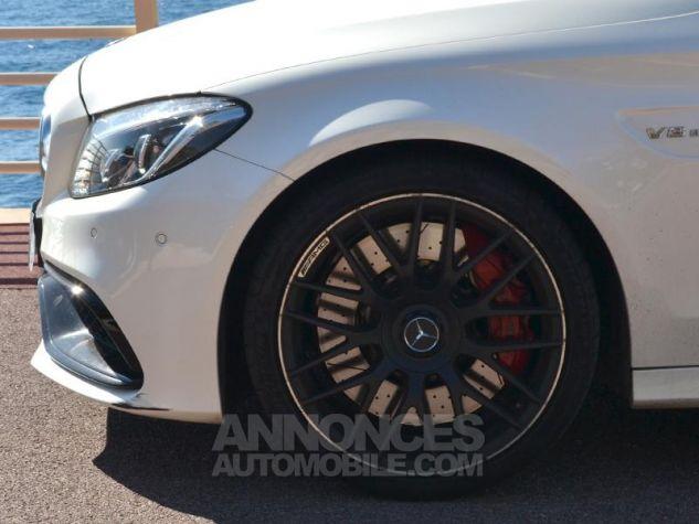 Mercedes Classe C 63 AMG S Speedshift MCT AMG Blanc Diamant Occasion - 6