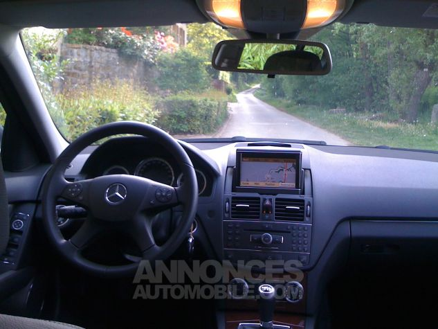 Mercedes Classe C Break 220 Cdi Elegance Luxe GPS Gris Anthracite  Occasion - 3